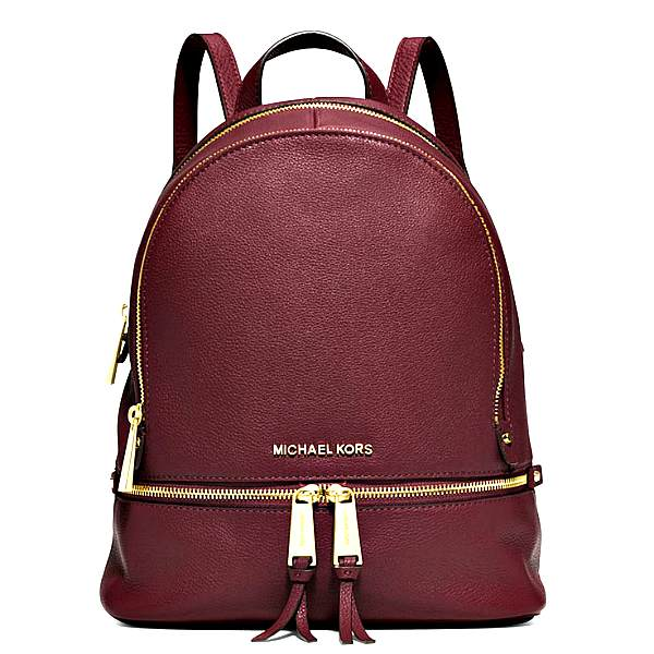 30S5GEZB1L merlot-mk-rhea-small-backpack-burgundy-1