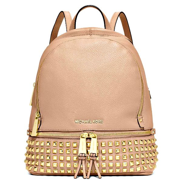 30s5gezb5l-ballet-michael-kors-rhea-small-studded-pebble-leather-backpack-ballet-gold