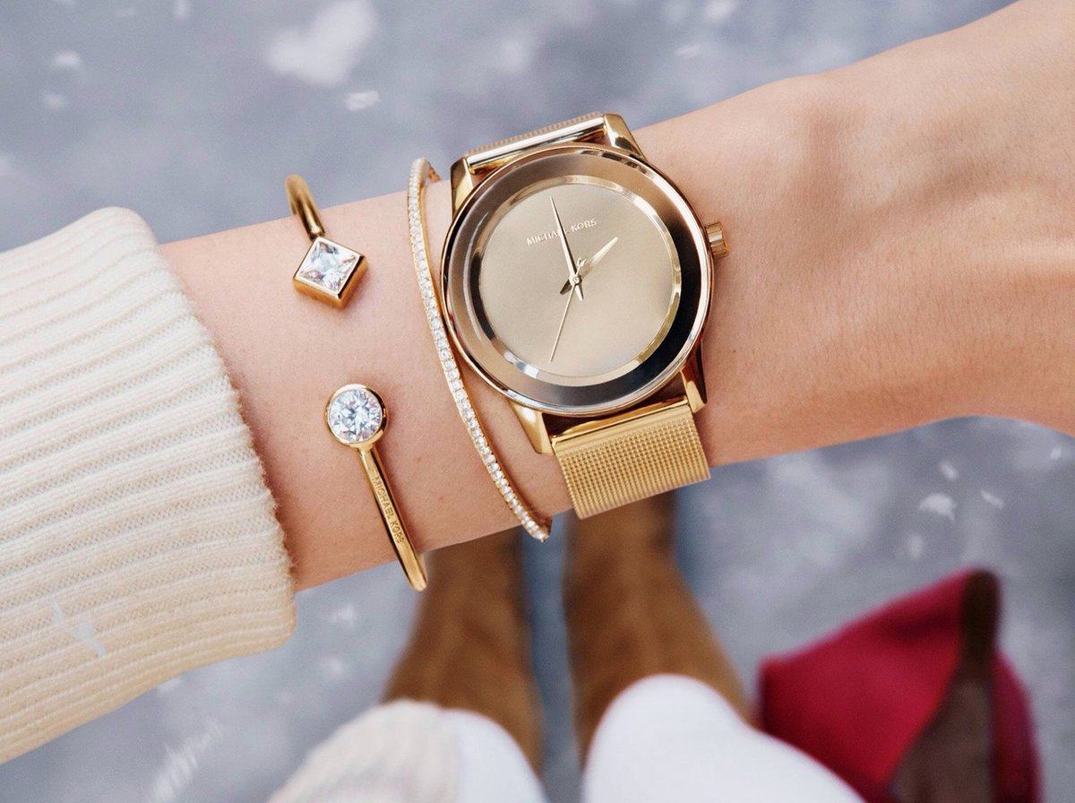 золотые-часы-michael-kors