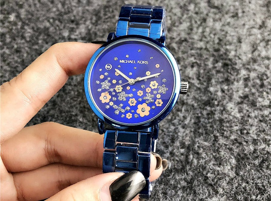 часы-майкл-корс-синие