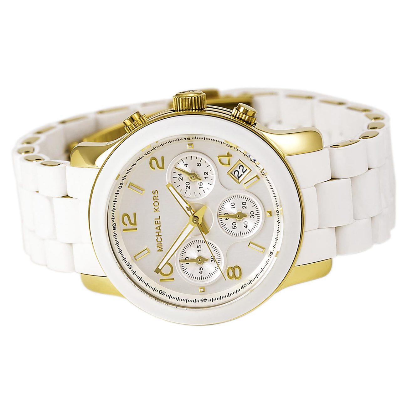 Часы Michael Kors Белые Оригинал Женские Майкл Корс